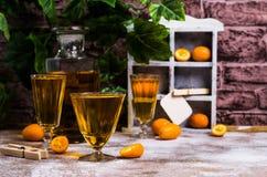 Orangeade transparente photo libre de droits