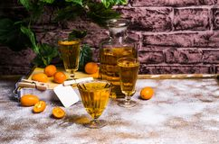 Orangeade transparente photos stock