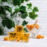 Orangeade transparente images stock