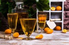 Orangeade transparente photos libres de droits