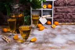 Orangeade transparente image stock