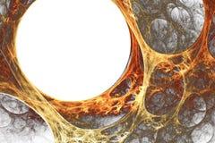Orangegelbes Plasma Stockbilder