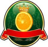 Orangelabel Fotografía de archivo libre de regalías