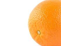 Orangen auf einem weißen Hintergrund Lizenzfreie Stockfotografie