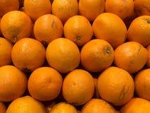Orangen frucht Fragment von einem Obst- und Gemüse Shop Stockfotos