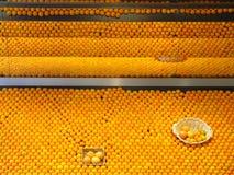 Orangen jedermann? Stockbild