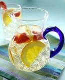 Orangen-und Erdbeere-Locher Lizenzfreie Stockfotografie