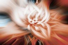 Orangen- und Knickententapete Abstraktes Hintergrundmosaik stock abbildung
