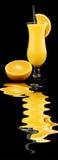 Orangen und Saft Stockfotos