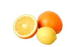 Orangen und Zitronen Lizenzfreies Stockfoto