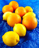 Orangen und Zitronen Stockfotos