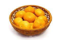Orangenfrüchte Lizenzfreie Stockbilder