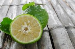 Orangengrün Stockfotografie