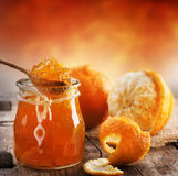 Orangenmarmelade stockbilder