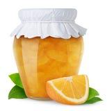 Orangenmarmelade Lizenzfreies Stockfoto
