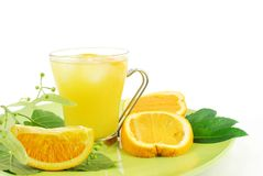 Orangensaft Lizenzfreie Stockfotografie