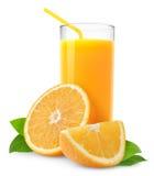 Orangensaft Lizenzfreies Stockbild