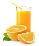 Orangensaft stockfotos