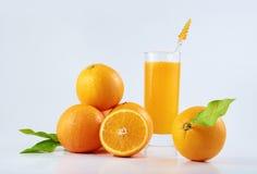 Orangensaft Stockfotografie