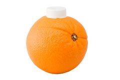 Orangensaft Stockbild