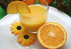 Orangensaft Photo stock