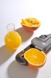Orangensaft destilliert Lizenzfreie Stockfotografie