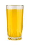 Orangensaft im Glas Lizenzfreie Stockfotografie