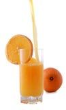 Orangensaftgetränk lizenzfreies stockbild