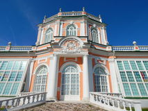The Orangerie in the Architectural Park Ensemble Kuskovo, Moscow. Built in the 18th century and belonged to the Sheremetev family royalty free stock images
