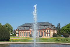 Orangerie in Darmstadt Hesse, Germany Royalty Free Stock Image