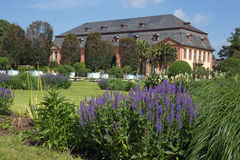 Orangerie garden in Darmstadt Hesse, Germany Royalty Free Stock Photography