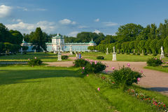 The Orangerie in Kuskovo Estate stock photography