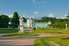 Orangerie in Kuskovo-Landgoed Stock Foto