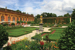Orangeries of the Weilburg Palace stock image