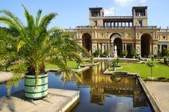Orangerieschloss in Sanssouci palace, Potsdam. Orangerieschloss in Sanssouci palace in Potsdam. Germany stock photo