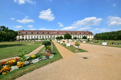 Orangery in Ansbach, Bavaria, Germany Stock Photos