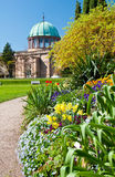 Orangery in botanical gaden in Germany Royalty Free Stock Photography