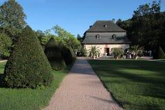 Orangery der Abtei von Eberbach Stockfoto