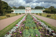 Orangery Palace building in Kuskovo park, Moscow Royalty Free Stock Image