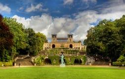 The Orangery Palace (Orangerieschloss) in Park Sanssouci in Potsdam Stock Photos