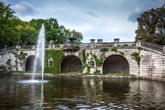 The Orangery Palace in Park Sanssouci, Potsdam, Germany Royalty Free Stock Images