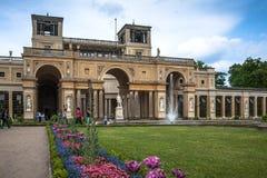 The Orangery Palace in Park Sanssouci, Potsdam, Germany Stock Photography