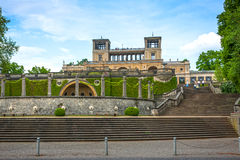 The Orangery Palace in Park Sanssouci, Potsdam, Germany Stock Photos