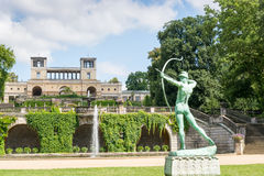 The Orangery Palace in Park Sanssouci, Potsdam, Germany Royalty Free Stock Image
