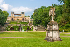 Orangery Palace in Potsdam Royalty Free Stock Photos