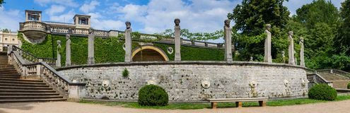 Orangery Palace in Sanssouci Park Royalty Free Stock Images