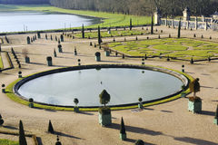 The orangery park of the castle of Versailles Stock Photo