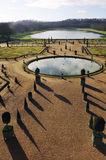 The orangery park of the castle of Versailles Royalty Free Stock Photography