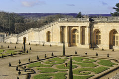 The orangery park of the castle of Versailles Royalty Free Stock Image