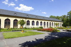 The Orangery in Warsaw's Wilanow in Poland Stock Images